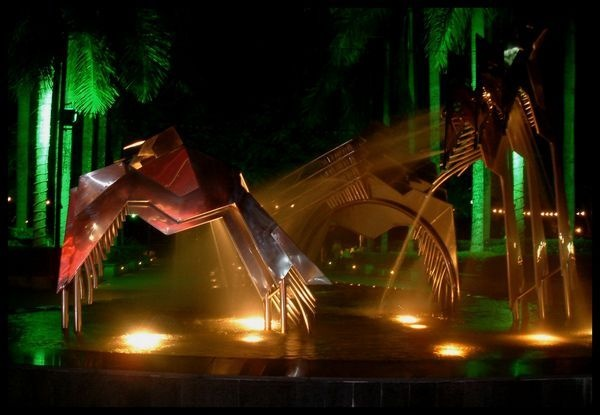 funky fountain by yelnats