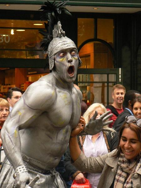 Silver man by roymag