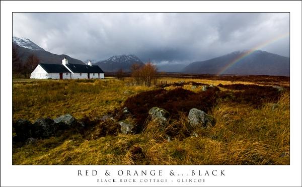 Red & Orange &... Black by javam