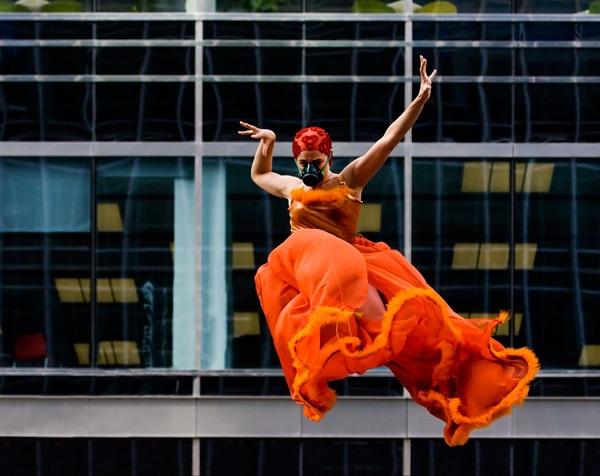 Orange Jumper by RoyBoy