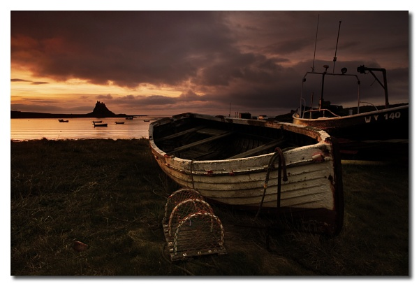 Lonely Boat by TonyA