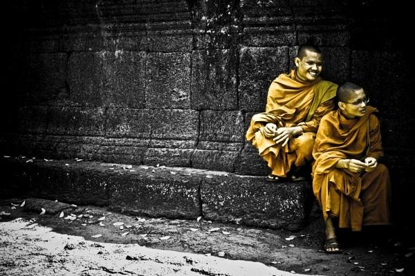 Monks by GeePanesar