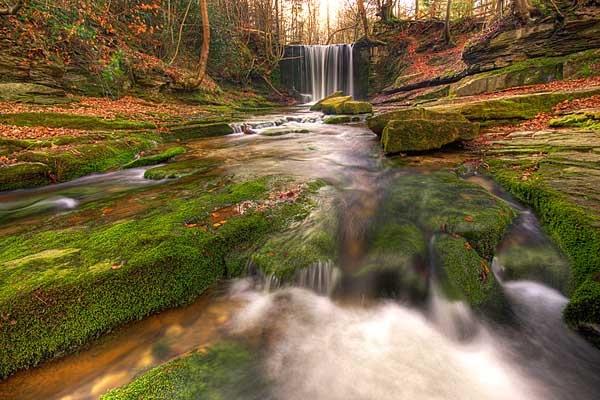 Clywedog Falls by Gareth_H