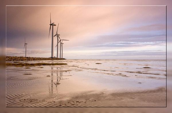 Beach in northern Djursland by Monradus