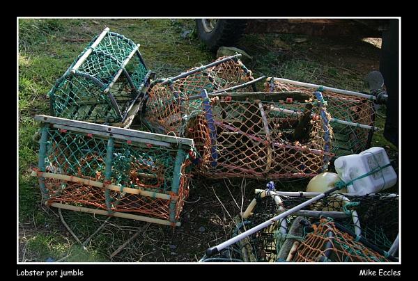 Lobster pot jumble by oldgreyheron
