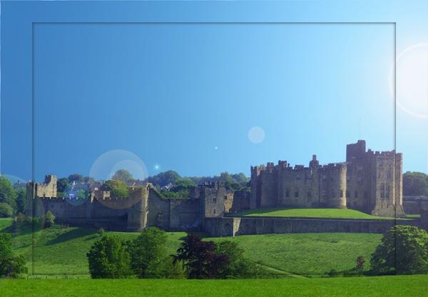 Anwick castle by Linzie