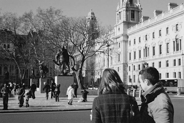 London street scene 2 by penguinc