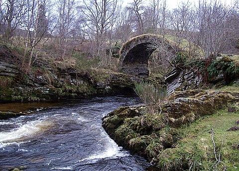 The Old Bridge Of Livet by jacqui123