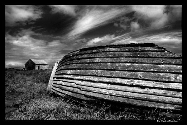 Wreck at Thornham by NEWMANP