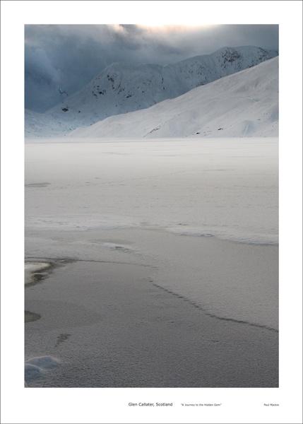 frozen loch callater by paulmackiemaging
