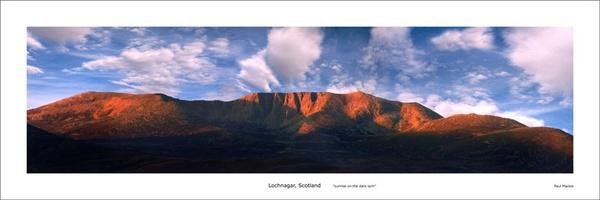 lochnagar sunrise by paulmackiemaging
