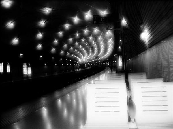 Monaco,Train Station by Vicalli