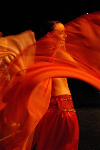 Oriental Dancer by richard loader