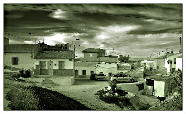 Barrio de cuevas, San Miguel de Salinas by roverfoxy9