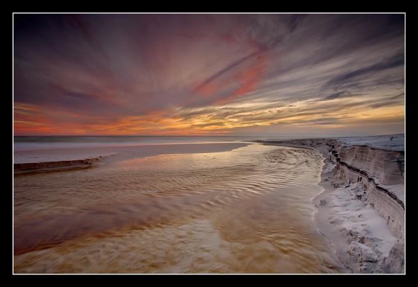Sand and Stream by PatrickSmith