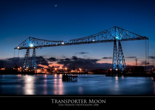Transporter Moon by culturedcanvas