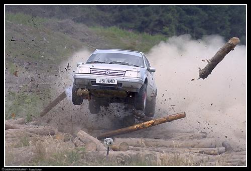 Peugeot 205 crash by Ryan_s