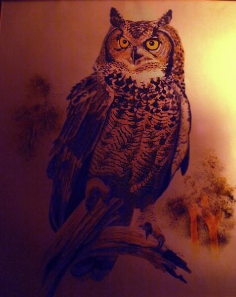 Owl At Dawn by chensuriashi
