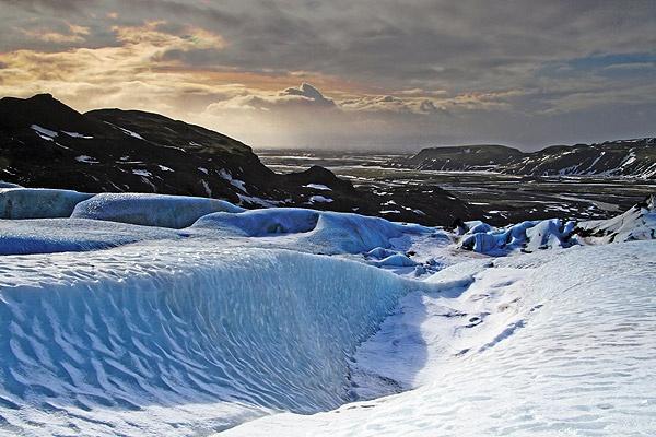 Solheimajokull by forestrich