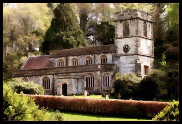 Stourhead church by bayleaf