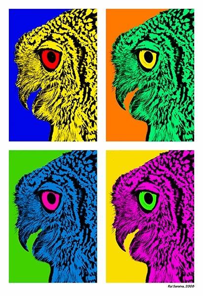 Pop Art owl by RSaraiva