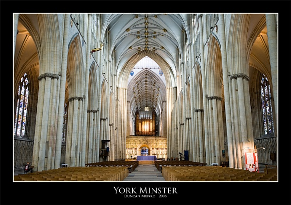 York Minster by duncanamps