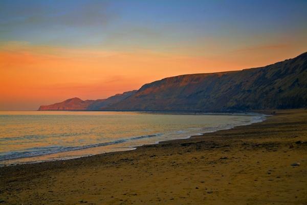 Twilight - Runswick Bay by JGCurry