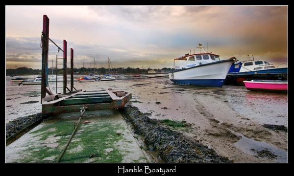 Hamble Boatyard by Sheff