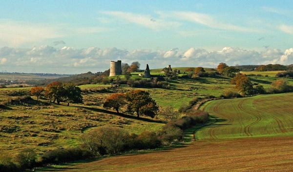 hadlegh castle in november by blacky