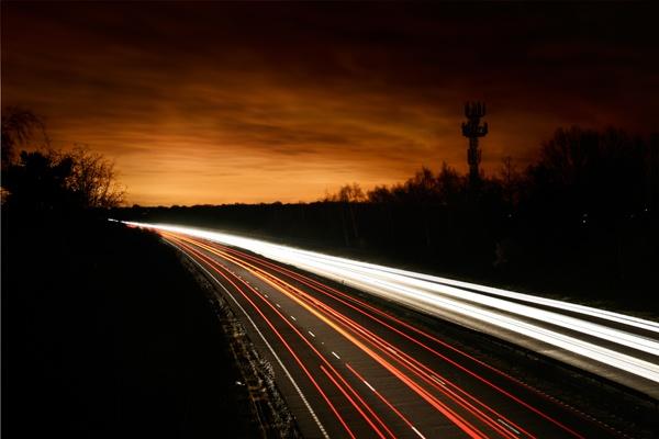 Night lights by TonyKerrey