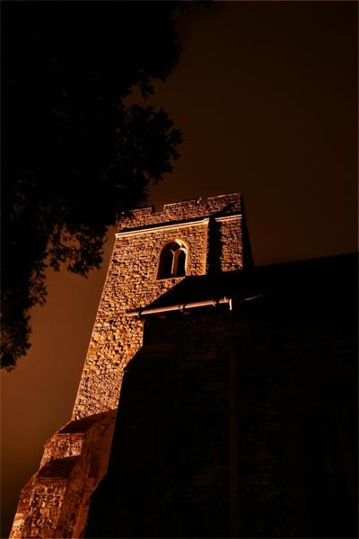Low angle church by TonyKerrey