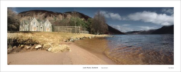 Loch Muick, Glas Alt Sheil by paulmackiemaging