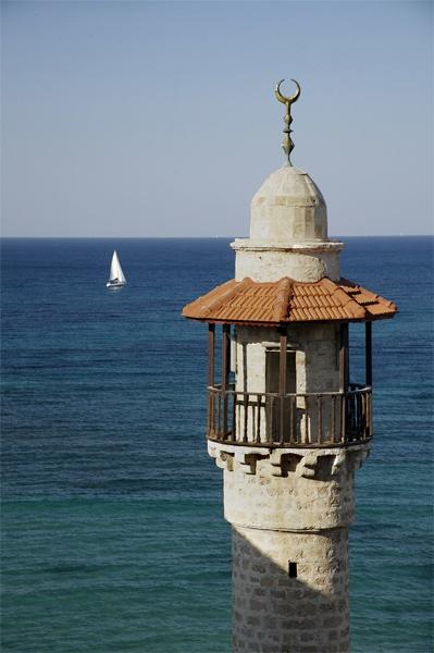 Marine Mosque Jaffa by alansnap