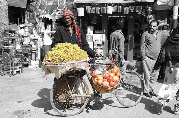 Grape Seller by mshepherd