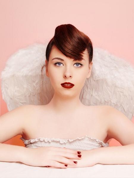 Angel on pink by stevekhart