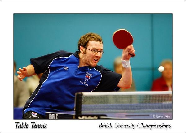Table Tennis by StevenPrice