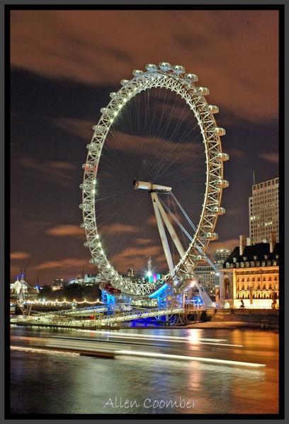 London Eye by AllyBoy