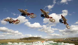 Motocross sequence