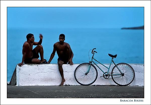 Baracoa Bikers by celestun