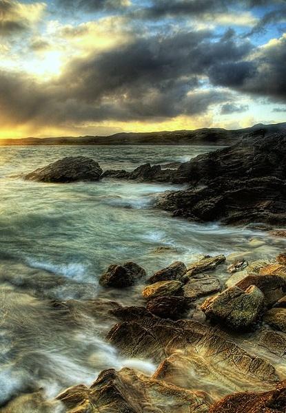 Golden Evening by irishman