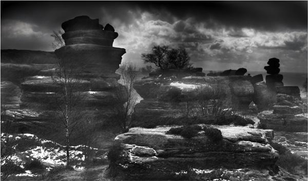 Black rock hail by C_Daniels