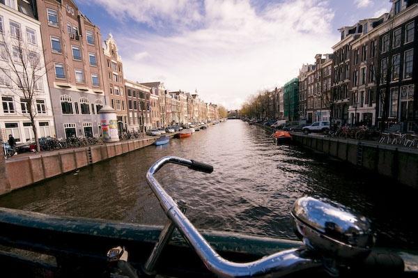 Amsterdam Canal by Strobekid