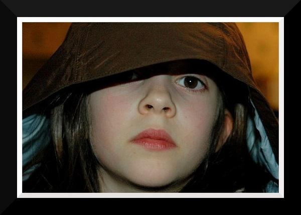 Annie aged 9. by Scaramanga