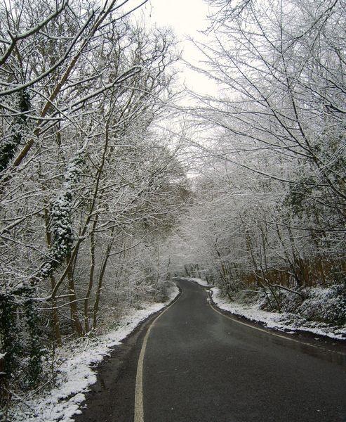 winter lane by smudgemisti