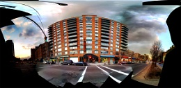 Red Square Apartments LES NYC - iPhone pano