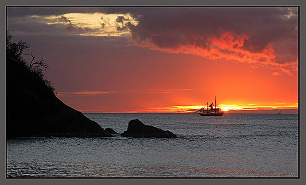 St. Lucia Sunset by nikon