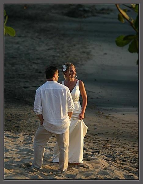 Wedding on the Beach by nikon