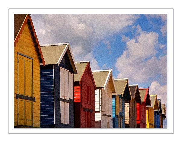 Beach Huts by BobMac