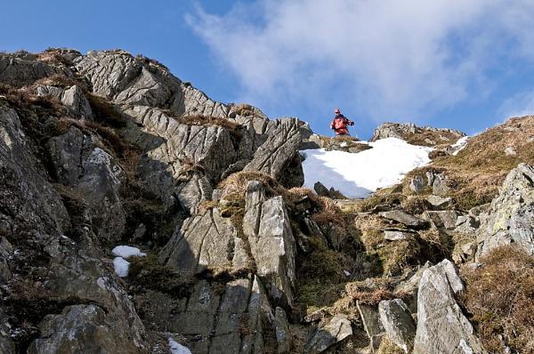 Descending Beinne Each. by Richardtyrrelllandscapes