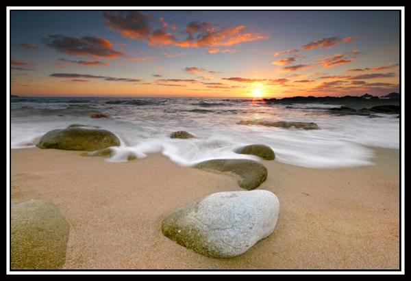 Cornish Sunset by renavatio
